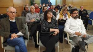 A primera fila, Biel Ferré, Úrsula Subirà i Lluís Pallejà