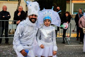 El Carnaval de Calafell ha celebrat el diumenge la tercera de les seves rues, la del Poble, que ha servit per tancar els actes.