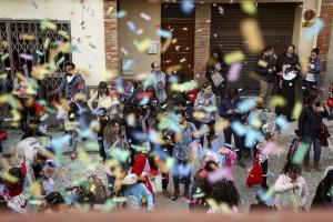 Festa del confeti Morell