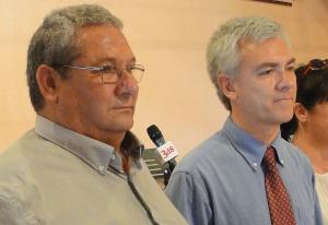 Juan Carrasco i August Armengol, en una imatge d'arxiu.