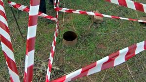 La imatge d'un pou sense tapar a Altafulla.