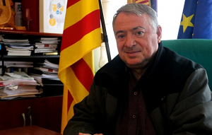 L'alcalde de l'Arboç, Joan Sans.