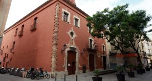 L'antic hospital de Sant Roc acull la seu de l'Institut d'Estudis Vallencs