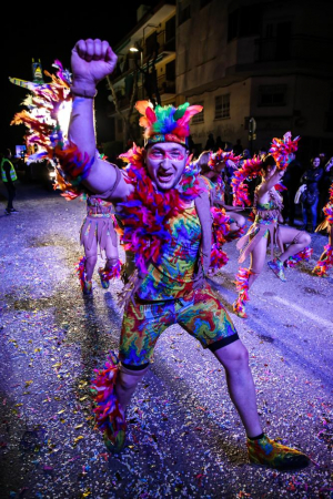 Les imatges de Toni González de la Rua de Carnaval de Cunit 2019