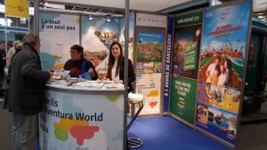 L'estand de Cambrils, Reus, Salou i PortAventura, al Saló Mundial del Turisme de París