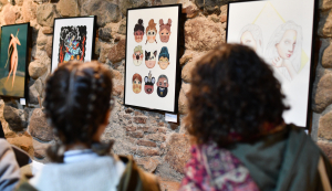 L'exposició es podrà visitar a Riudoms fins a finals de mes.