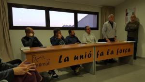 Presentació de la candidatura de Fem Vallmoll per les eleccions municipals de 2019