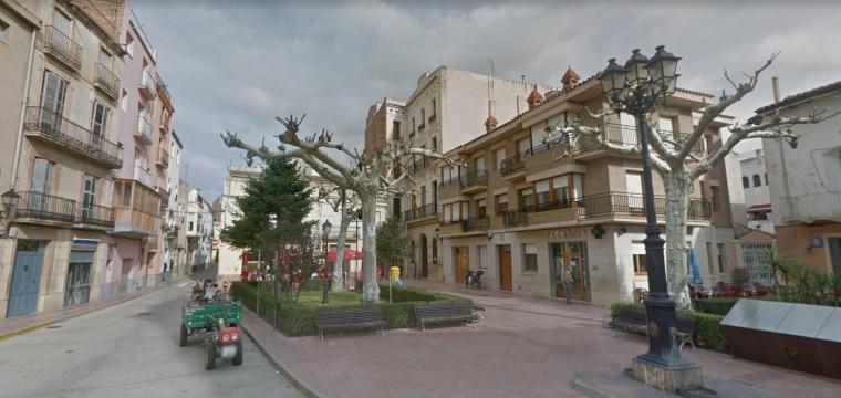 Plaça Major de Xerta