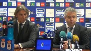 David López (esquerre) és l'administrador concursal del CF Reus