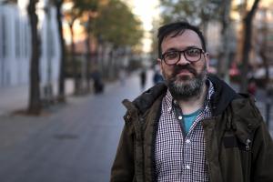 David Martínez és el cap de llista del PACMA per Tarragona a les eleccions generals del proper 28 d'abril.