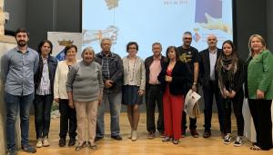 Els premiats al Concurs Literari Sant Jordi de la Bisbal del Penedès.