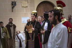 Via Crucis a Castellvell del Camp