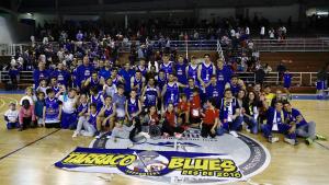 Foto de família del campió del Grup C-A de la Lliga EBA 2018-2019