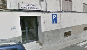 Imatge de l'exterior de la Cooperativa de Tivissa.