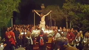 Imatge del Viacrucis de la Germandat del Sant Ecce-Homo de Tarragona