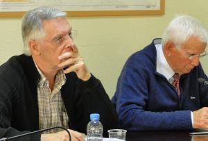 Joan Maria Triadó i Josep Parera.
