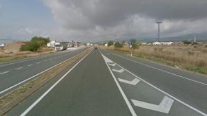 L'accident s'ha produït a la C-37 al Pla de Santa Maria