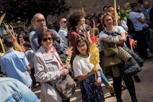 Les millors imatges de la benedicció de Diumenge de Rams a Reus, de la mà del fotògraf Josep Martí.