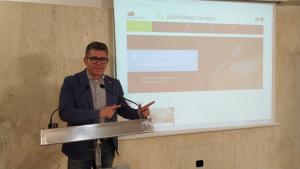 Marc Arza, regidor de Promoció Econòmica i d'Urbanisme de l'Ajuntament de Reus