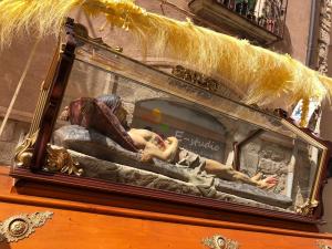 Repartiment dels misteris i vetlla del Sant Crist de la Sang de Montblanc 2019
