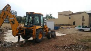 S'han iniciat les obres al Museu Molí de les Tres Eres per construir dos nous accessos