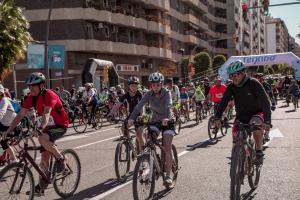 29ª edició de la Bicicletada popular a Tarragona.
