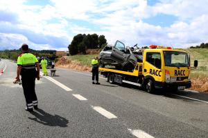 Accident mortal a l'N-240 a Vimbodí i Poblet
