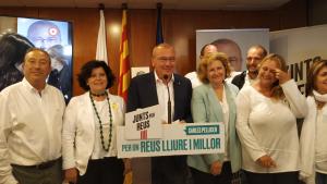 Carles Pellicer, acompanyat de la capçalera de la llista, ha valorat els resultats electorals