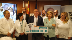 Carles Pellicer ha guanyat les eleccions a Reus