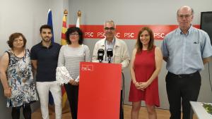 Carmina Pozuelo, Daniel Marcos, Anabel Martínez, Andreu Martín, Sandra Guaita i Hèctor Fort