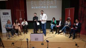 Debat de les eleccions municipals a Reus organitzat pels estudiants de la URV