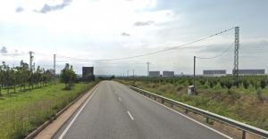 Dos ciclistes s'han vist involucrats en un accident a la carretera C-422, a Constantí