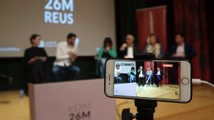 El debat dels estudiants de la URV s'ha pogut seguir per Internet