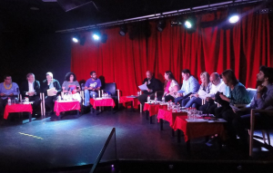 El debat per a les municipals de Calafell s'ha fet a Disco Vip's.