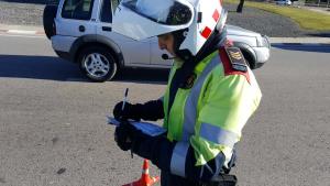 Els Mossos d'Esquadra han enxampat un conductor circulant a 180 km/h a l'AP-7 a Tarragona