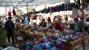 Els paradistes reclamen suport institucional i una aposta clara perquè els turistes arribin a la plaça Corsini.
