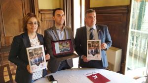 Els tres primers candidats d'Ara Reus presenten el programa electoral