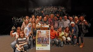 ERC i Som Poble van omplir el Tàg a l'acte central de campanya pel 26-M.