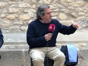 Josep Andreu, alcalde de Montblanc.