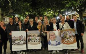 Junts pel Vendrell, encetant la campanya de les municipals 2019.