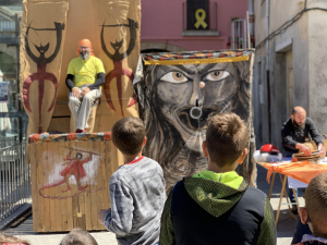 Santa Coloma de Queralt celebra la 4a edició de Som Terra de Patrimoni, dedicada a la divulgació de la identitat del poble.