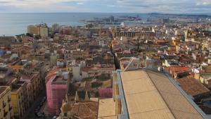 La ciutat de Tarragona, des del capdamunt de la Catedral