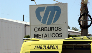L'accident ha succeït a l'empresa Carburos Metalicos