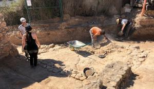 Les actuals excavacions a la Ciutadella Ibèrica de Calafell.