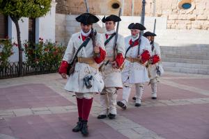 El municipi del Baix Gaià celebra la fira 'Torredembarra 1713', que recrea la Batalla de Torredembarra de la Guerra de Successió.