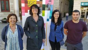 Mariona Quadrada i el futur grup municipal de la CUP de Reus han exposat la seva proposta