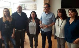 Membres de la candidatura de Podem el Vendrell.