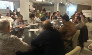 Pla general del ple del Consell Comarcal de la Ribera d'Ebre del 30 d'abril.