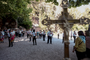 Decennals d'Alcover: baixada de la Mare de Déu