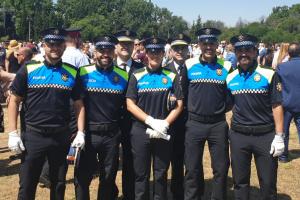 Els cinc nous agents de la Guàrdia Urbana de Reus